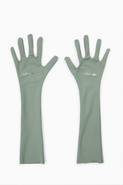 Matcha green gloves